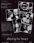 Playing By Heart - For your consideration movie poster (xs thumbnail)