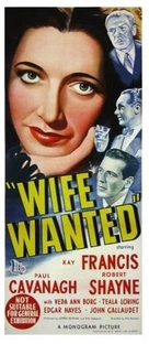 Wife Wanted - Australian Movie Poster (xs thumbnail)