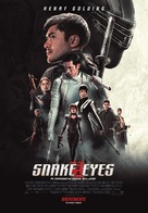 Snake Eyes: G.I. Joe Origins - Portuguese Movie Poster (xs thumbnail)