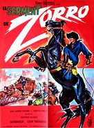 El Zorro cabalga otra vez - French Movie Poster (xs thumbnail)