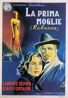 Rebecca - Italian Movie Poster (xs thumbnail)
