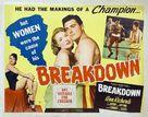 Breakdown - Australian Movie Poster (xs thumbnail)