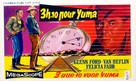 3:10 to Yuma - Belgian Movie Poster (xs thumbnail)