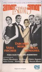 Amor Estranho Amor - Brazilian VHS cover (xs thumbnail)