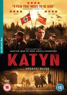 Katyn - British Movie Cover (xs thumbnail)