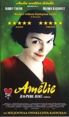Le fabuleux destin d'Amélie Poulain - Finnish Movie Poster (xs thumbnail)
