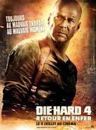 Live Free or Die Hard - French Movie Poster (xs thumbnail)