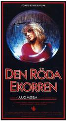 Ardilla roja, La - Swedish Movie Poster (xs thumbnail)