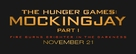 The Hunger Games: Mockingjay - Part 1 - Logo (xs thumbnail)