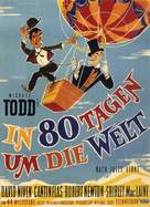 Around the World in Eighty Days - German Movie Poster (xs thumbnail)
