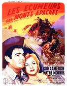 Stage to Tucson - French Movie Poster (xs thumbnail)