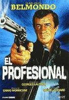 Le professionnel - Spanish DVD cover (xs thumbnail)