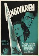 Kiss of Death - Swedish Movie Poster (xs thumbnail)