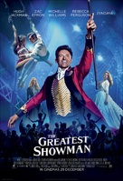 The Greatest Showman - South African Movie Poster (xs thumbnail)