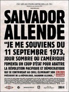 Salvador Allende - French Movie Poster (xs thumbnail)