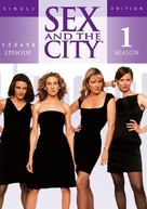 """""""Sex and the City"""" - German DVD movie cover (xs thumbnail)"""