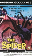 Earth vs. the Spider - British VHS movie cover (xs thumbnail)