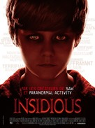 Insidious - French Movie Poster (xs thumbnail)
