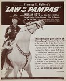 Law of the Pampas - poster (xs thumbnail)