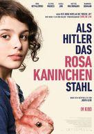 Als Hitler das rosa Kaninchen stahl - German Movie Poster (xs thumbnail)