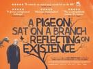 En duva satt på en gren och funderade på tillvaron - British Movie Poster (xs thumbnail)