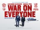 War on Everyone - British Movie Poster (xs thumbnail)
