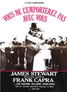 You Can't Take It with You - French Movie Poster (xs thumbnail)