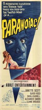 Paranoiac - British Movie Poster (xs thumbnail)