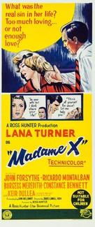 Madame X - Australian Movie Poster (xs thumbnail)