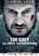 The Grey - Romanian Movie Poster (xs thumbnail)
