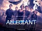 The Divergent Series: Allegiant - British Movie Poster (xs thumbnail)