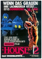 House II: The Second Story - German Movie Poster (xs thumbnail)