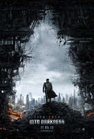 Star Trek Into Darkness - British Movie Poster (xs thumbnail)