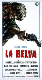La belva - Italian Movie Poster (xs thumbnail)