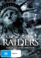 Lost City Raiders - Australian DVD cover (xs thumbnail)