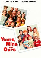 Yours, Mine and Ours - DVD movie cover (xs thumbnail)