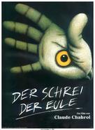 Cri du hibou, Le - German Movie Poster (xs thumbnail)