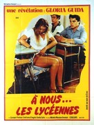 La liceale - French Movie Poster (xs thumbnail)