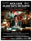 20,000 Days on Earth - Movie Poster (xs thumbnail)