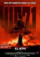 U-571 - German Movie Poster (xs thumbnail)