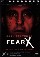 Fear X - Australian DVD cover (xs thumbnail)