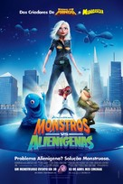 Monsters vs. Aliens - Brazilian Movie Poster (xs thumbnail)