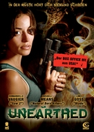 Unearthed - German Movie Poster (xs thumbnail)