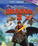 How to Train Your Dragon 2 - British Blu-Ray movie cover (xs thumbnail)