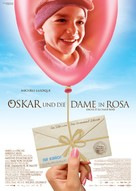 Oscar et la dame rose - German Movie Poster (xs thumbnail)