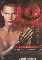 Species II - German Movie Poster (xs thumbnail)