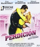 Double Indemnity - Spanish Blu-Ray cover (xs thumbnail)