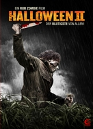 Halloween II - German DVD movie cover (xs thumbnail)