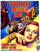 Tokyo File 212 - Belgian Movie Poster (xs thumbnail)