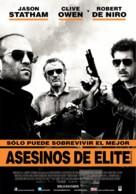 Killer Elite - Argentinian Movie Poster (xs thumbnail)